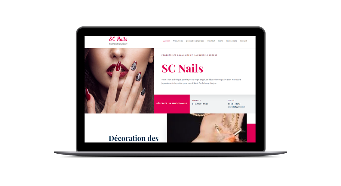 Site responsive - Agence web Angers Gwen and Ben