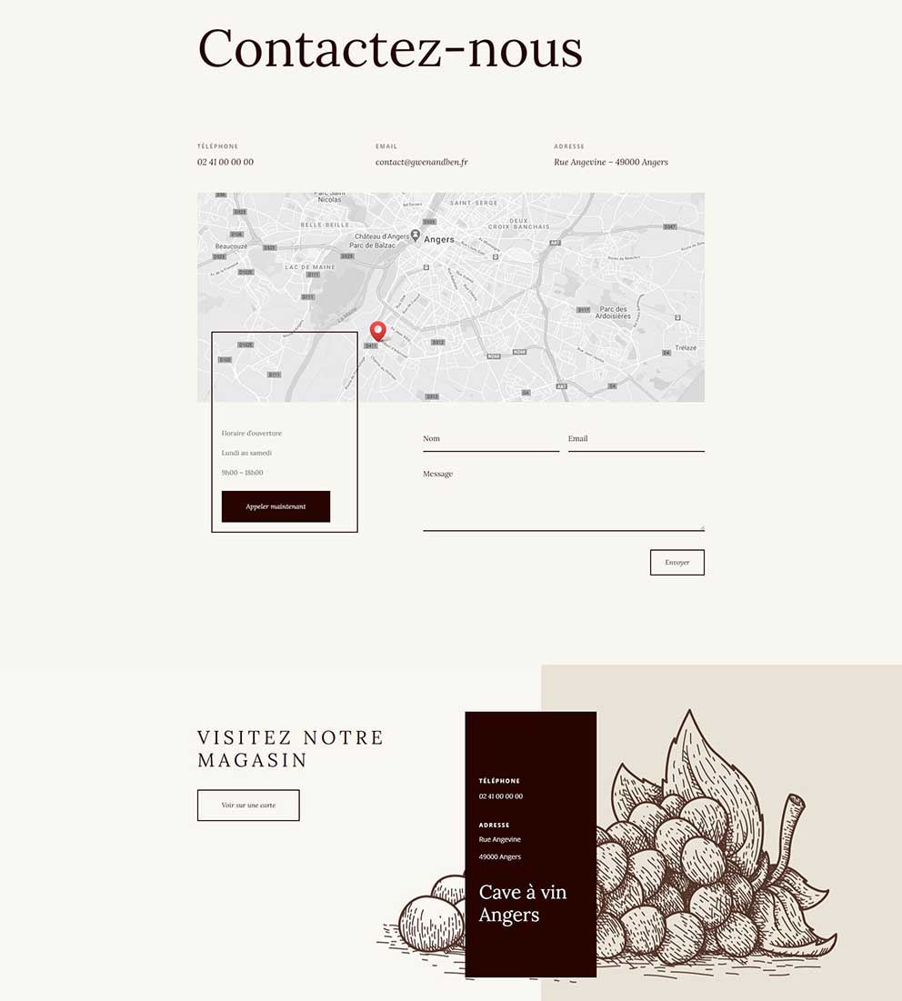 page-contact-site-click-and-collect-Gwen-and-Ben-agence-web-Angers